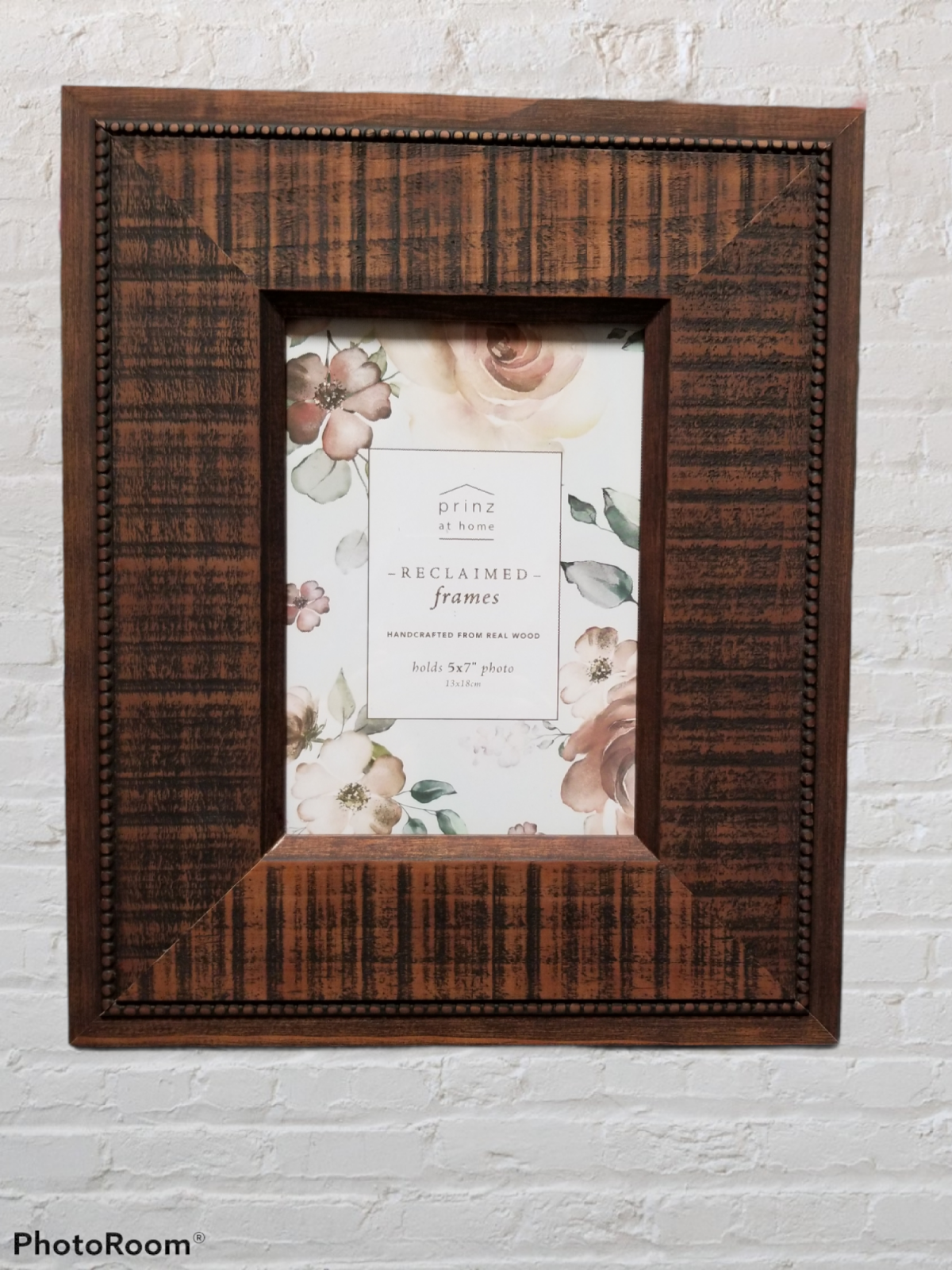 5x7 Beadwood Walnut Photo Frame