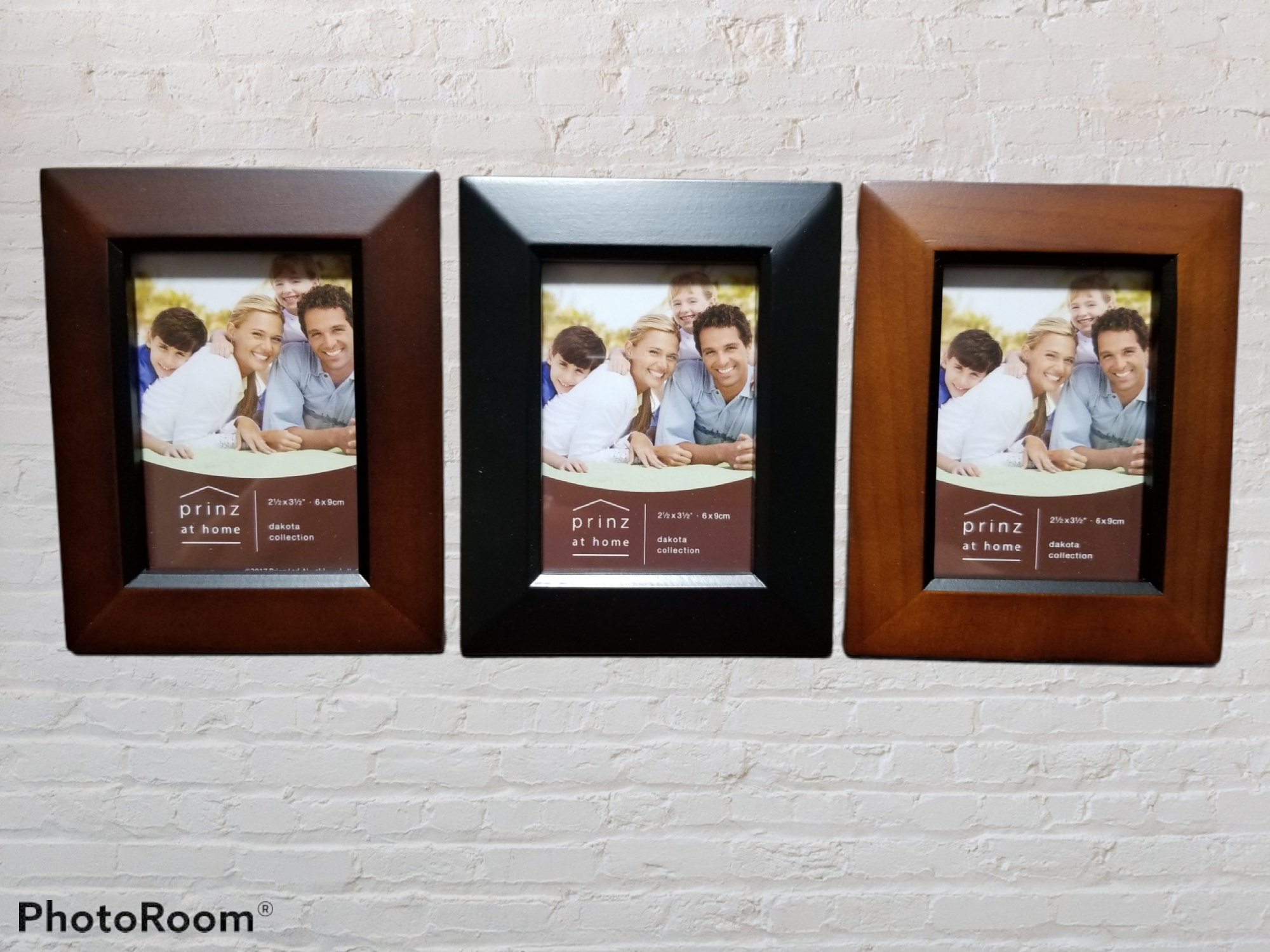 2.5x3.5 Dakota Solid Wood Assorted Photo Frame
