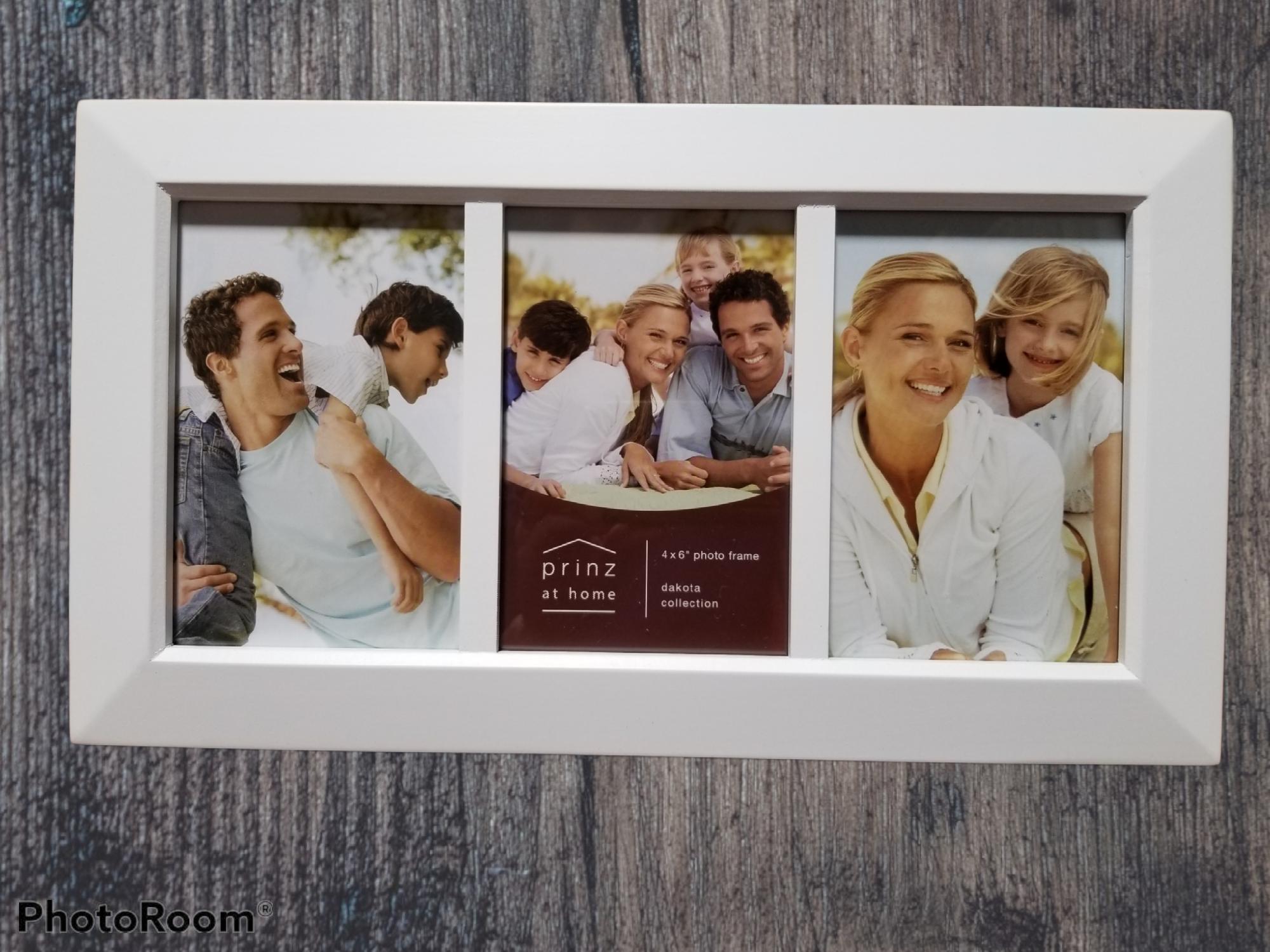 3 opening 4x6 Dakota White Collage