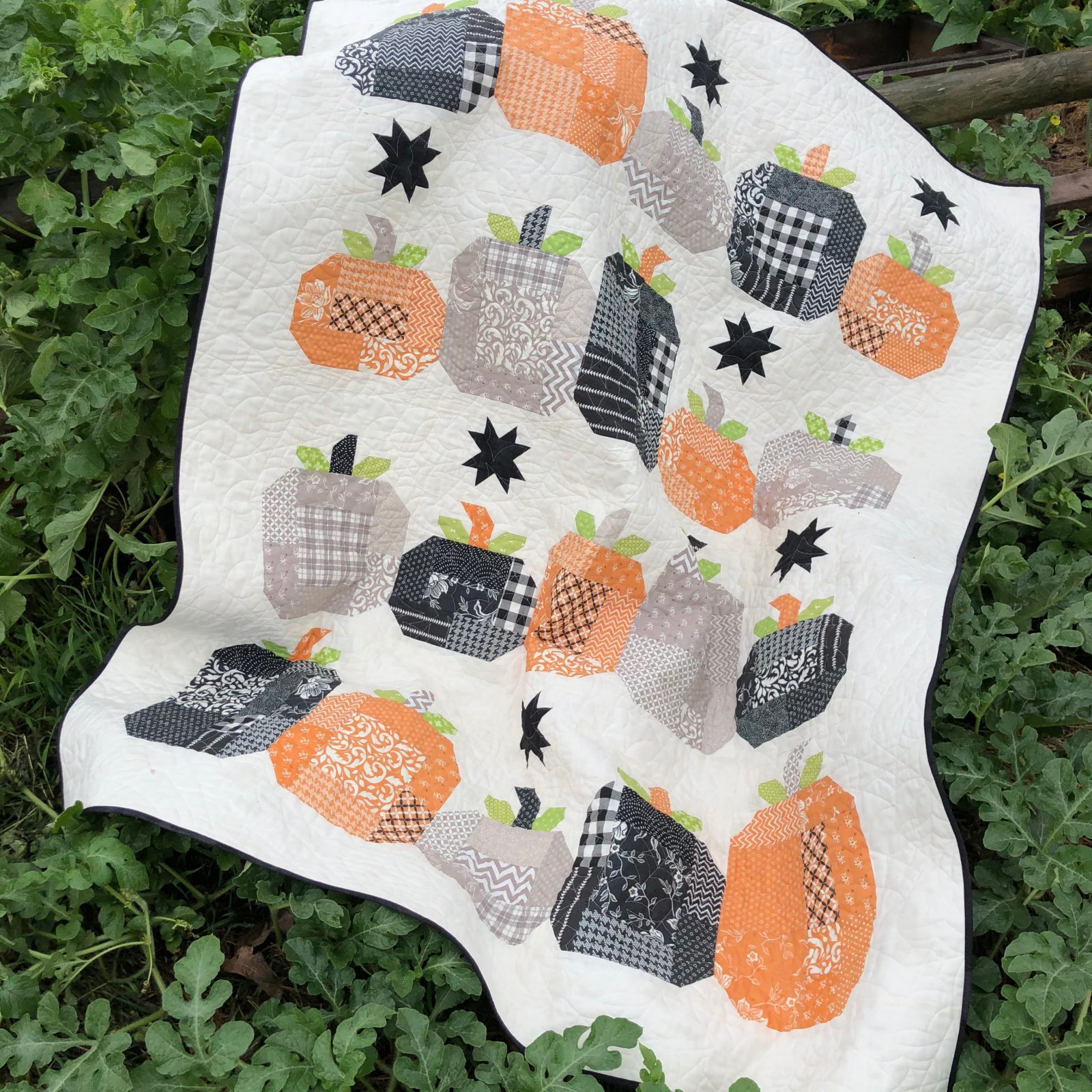 Hocus Pocus Quilt Kit from All Hallow's Eve Fabric