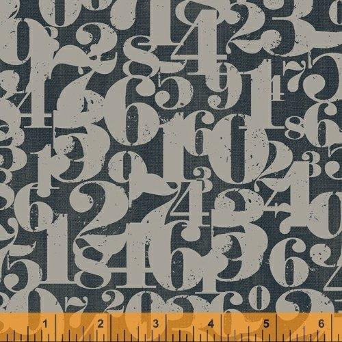 Numbers on Black