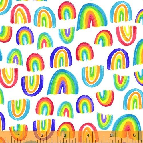 Rainbows on White
