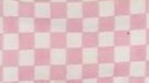 Pink and White Checker