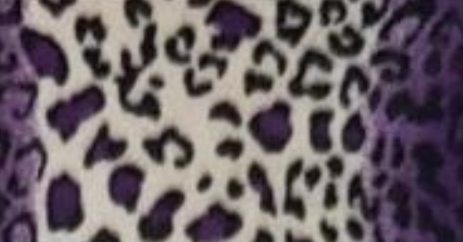 Leopard with Purple