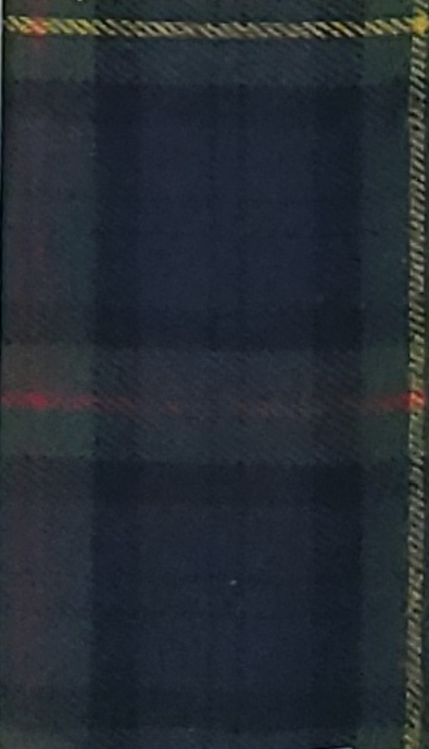 Green and Red Plaid with Yellow Stripe