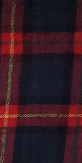 Black and Red Plaid with Yellow Stripe