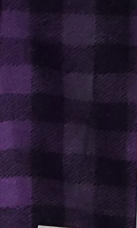 Purple Checked