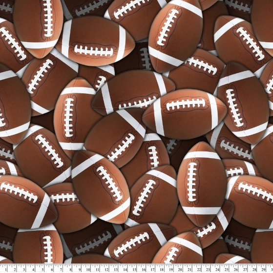 Lots of Footballs