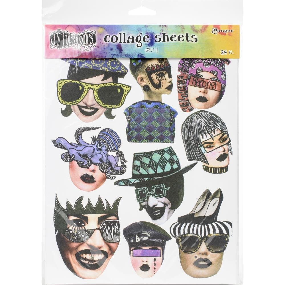 Dylusions Collage Sheets - Set 1