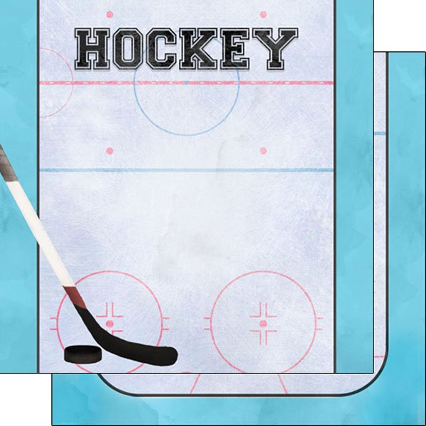 Hockey Watercolor Paper