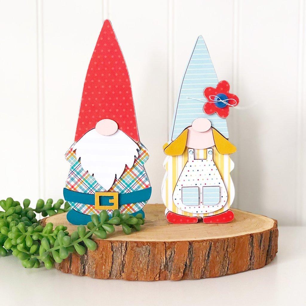 Gnome Couple - Olive & Odi