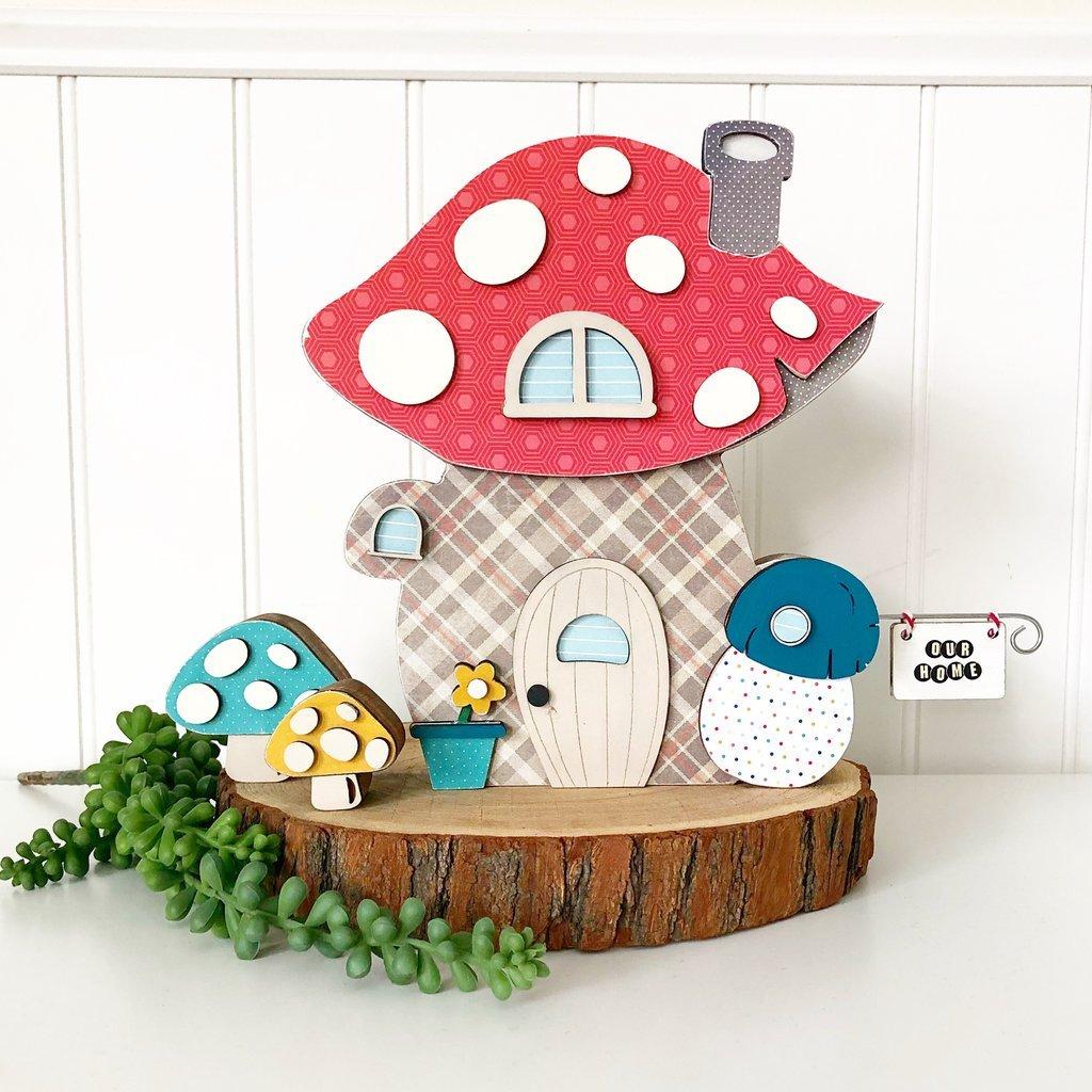 Olive & Odi's Mushroom Home