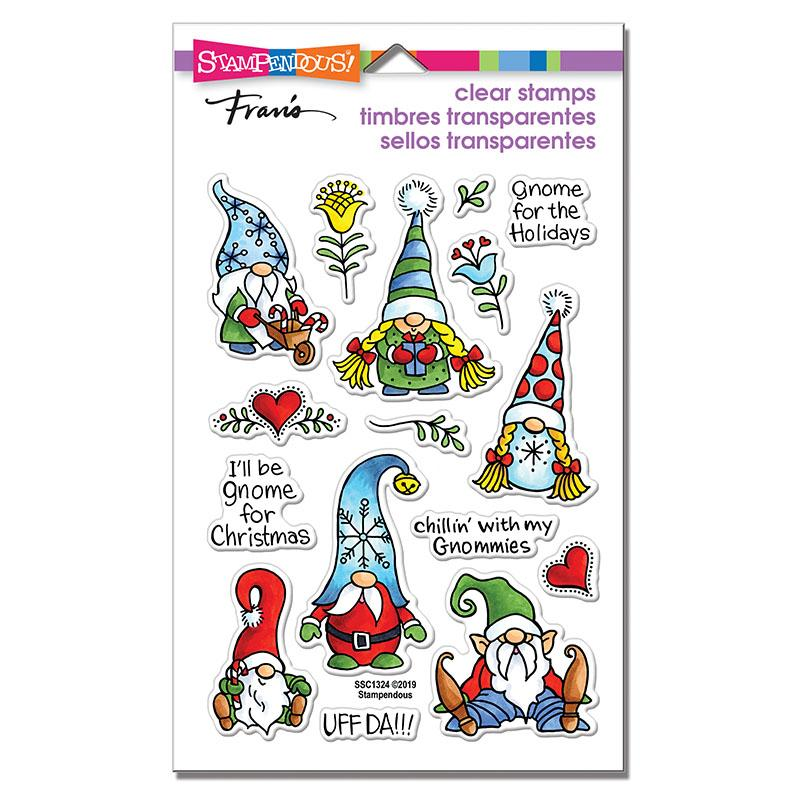 Holiday Gnomes Stamp