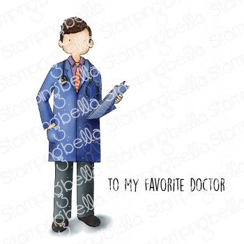 My Favorite Doctor Stamp