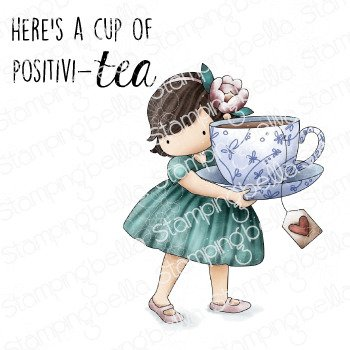Tiny Townie Loves Tea Stamp