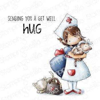 Tiny Townie Nurse Stamp