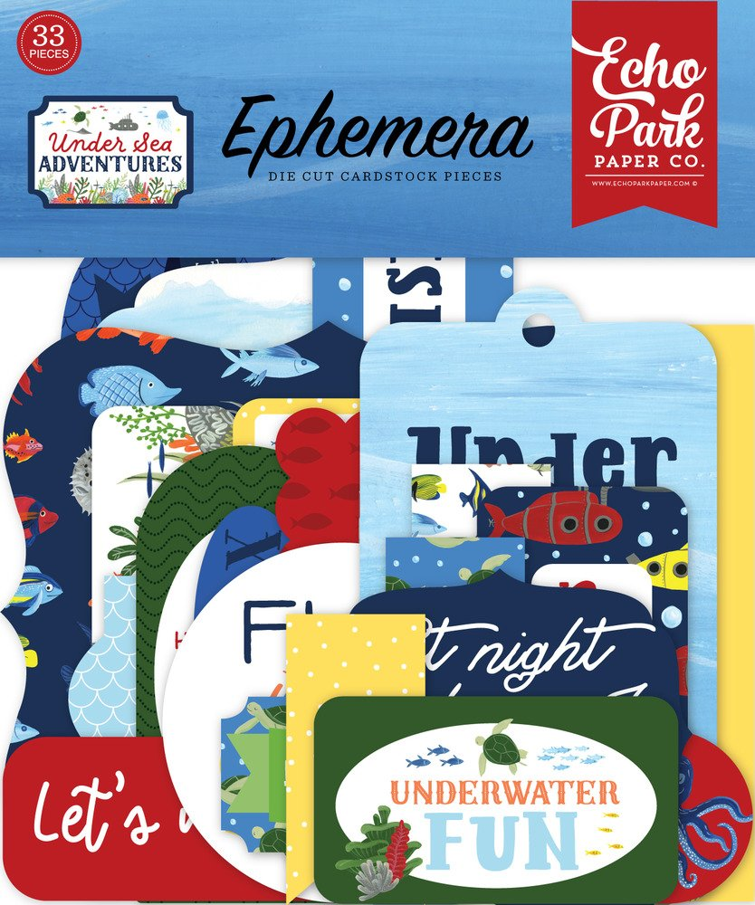 Under Sea Adventures - Ephemera