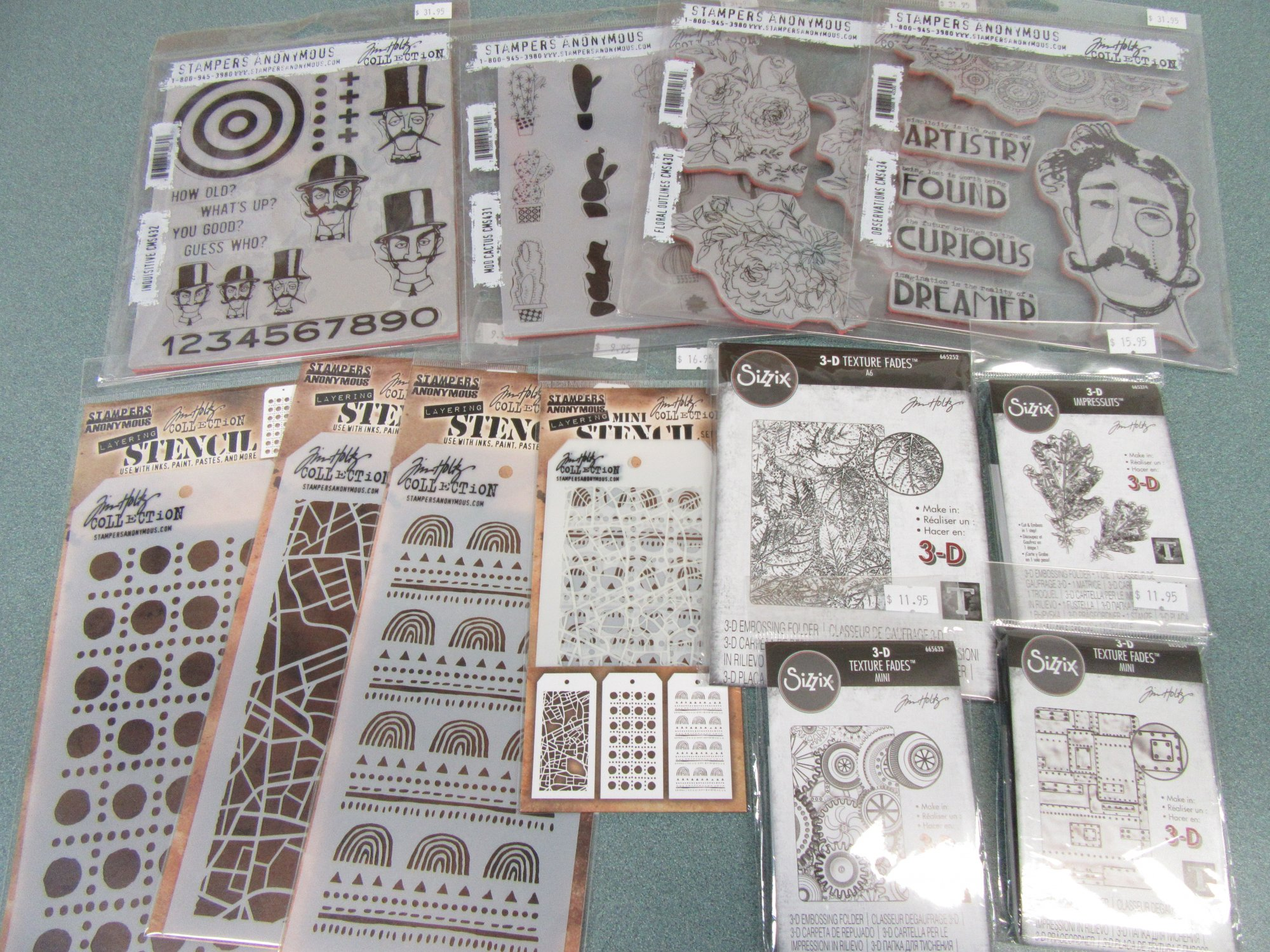 Tim Holtz/Stampers Anonymous