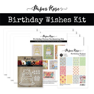 Birthday Wishes Cardmaking Kit