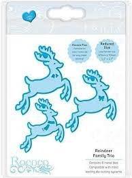 Tonic Studios Die - Reindeer Family Trio