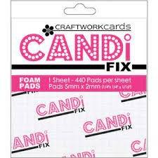 Craftwork Cards Candi Fix foam pads