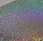 The Paper Cut - Confetti Holographic 80lb