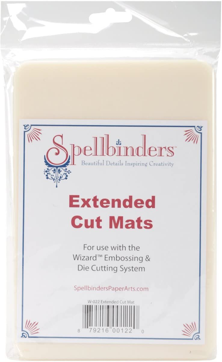 Spellbinders Extended  Cut Mats for use with Wizard Die Cutting System (set of 2)