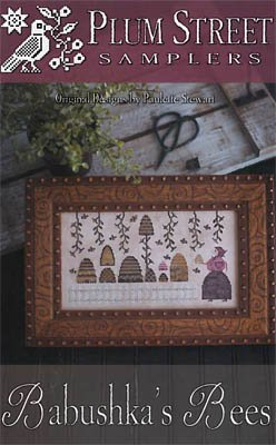 Babushka's Bees by Plum Street Samplers - Counted Cross Stitch Pattern SKU# 18-1386