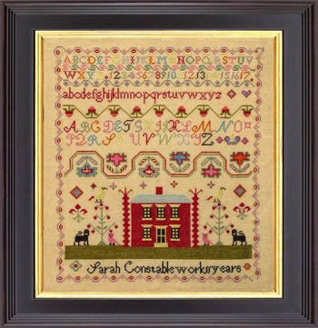 Sarah Constable by Mill on the Floss Samplers - Counted Cross Stitch Pattern
