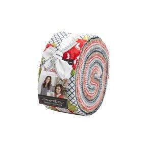 Sunday Stroll Jelly Roll by Bonnie & Camille for Moda Fabrics