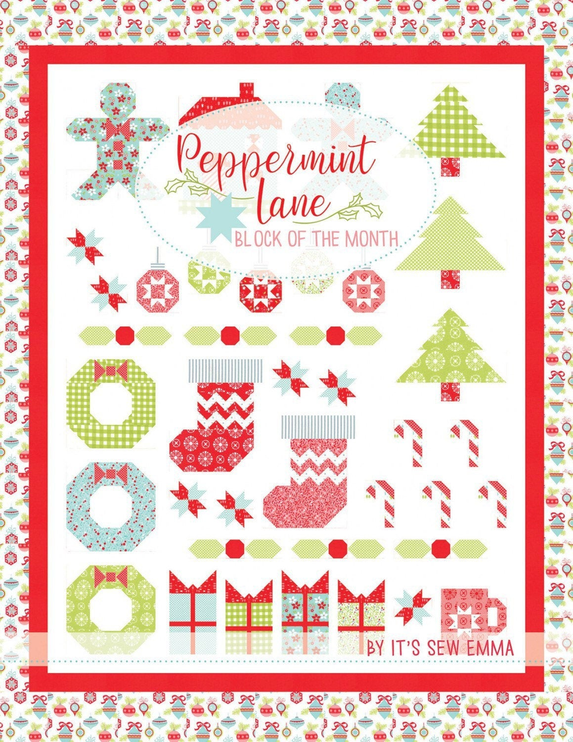 Peppermint Lane Block Of The Month Book SKU# ISE-921