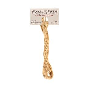 Bee's Knees -  Weeks Dye Works 6 Strand Hand-Dyed Embroidery Floss SKU# WDW-1233a