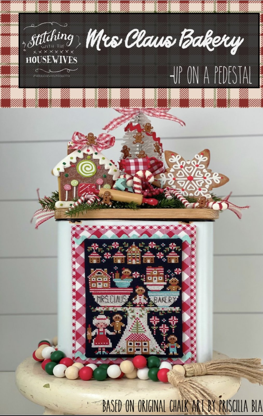 Mrs Claus Bakery by Stitching with the Housewives - Counted Cross Stitch Pattern