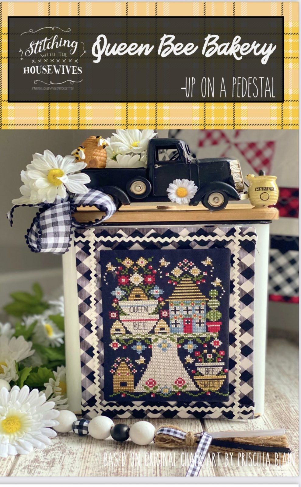 A Queen Bee bakery by Stitching with the Housewives - Counted Cross Stitch Pattern