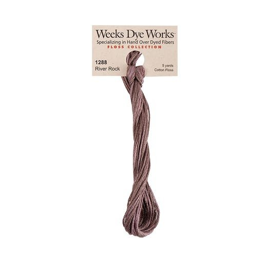 River Rock - Weeks Dye Works 6 Strand Hand-Dyed Embroidery Floss SKU# WDW-1288