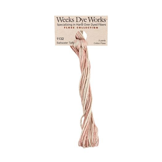 Saltwater Taffy -  Weeks Dye Works 6 Strand Hand-Dyed Embroidery Floss Weeks Dye Works SKU# WDW-1132
