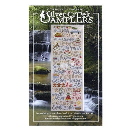 My Christmas List by Silver Creek Samplers - Counted Cross Stitch Pattern