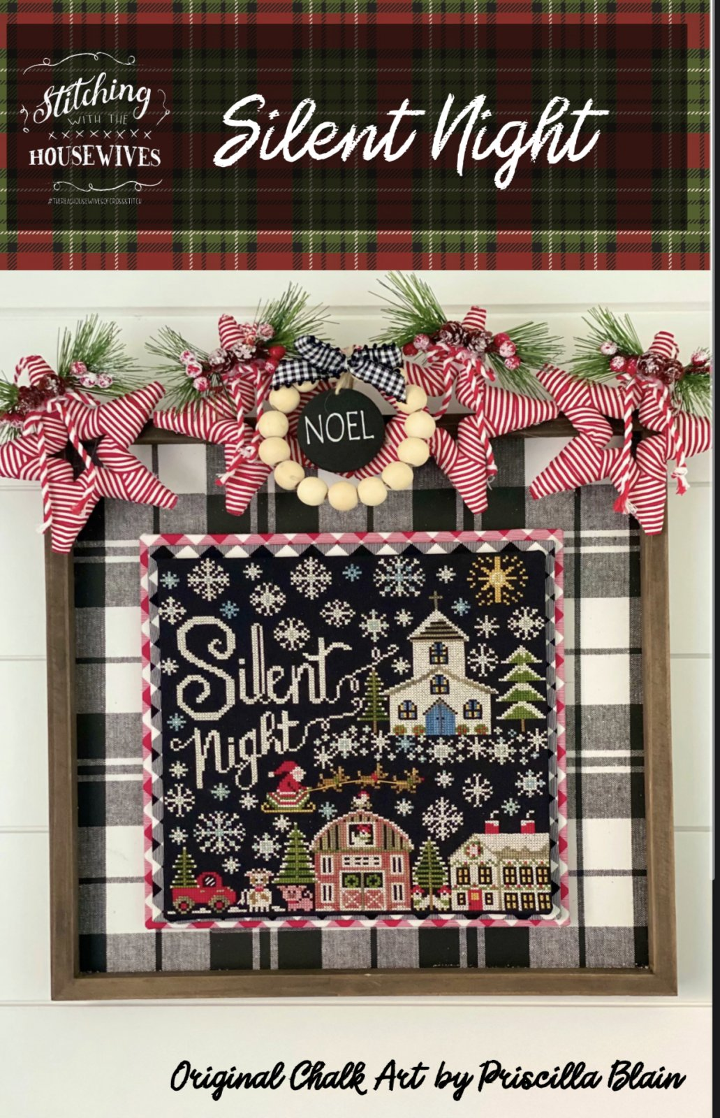 Silent Night by Stitching with the Housewives - Counted Cross Stitch Pattern