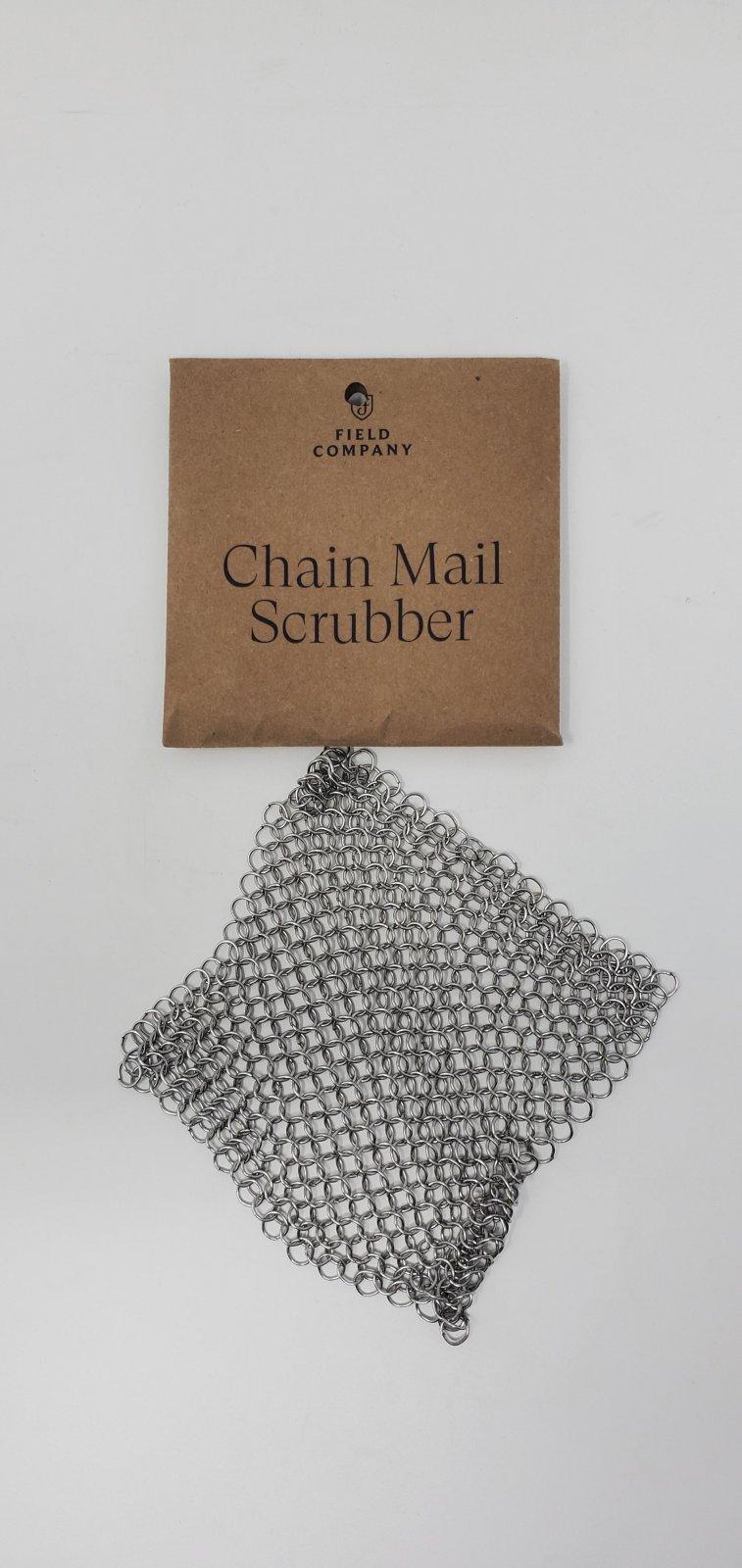 Field Chain Scrubber For Cast Iron