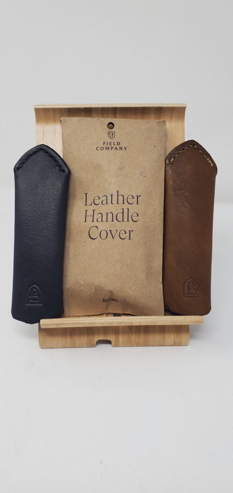 Field Leather Handle Slip, for Cast Iron pans
