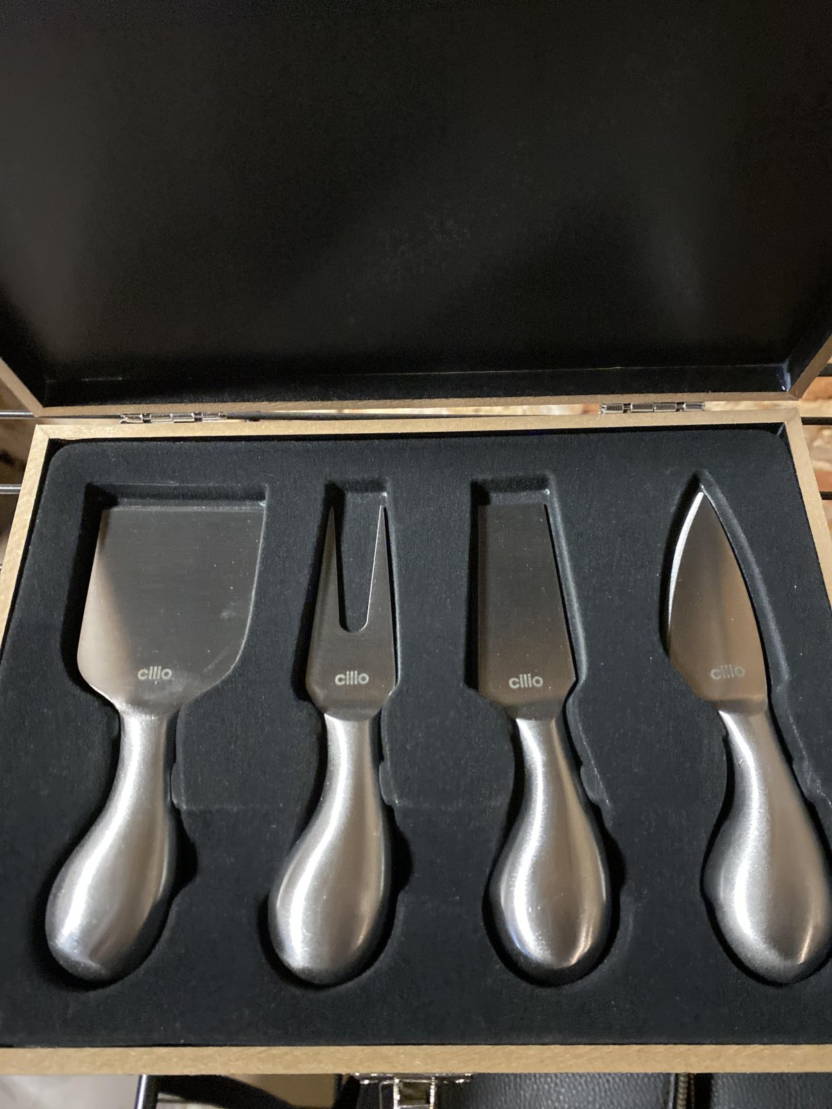 Cilio Cheese Knives set 4pc