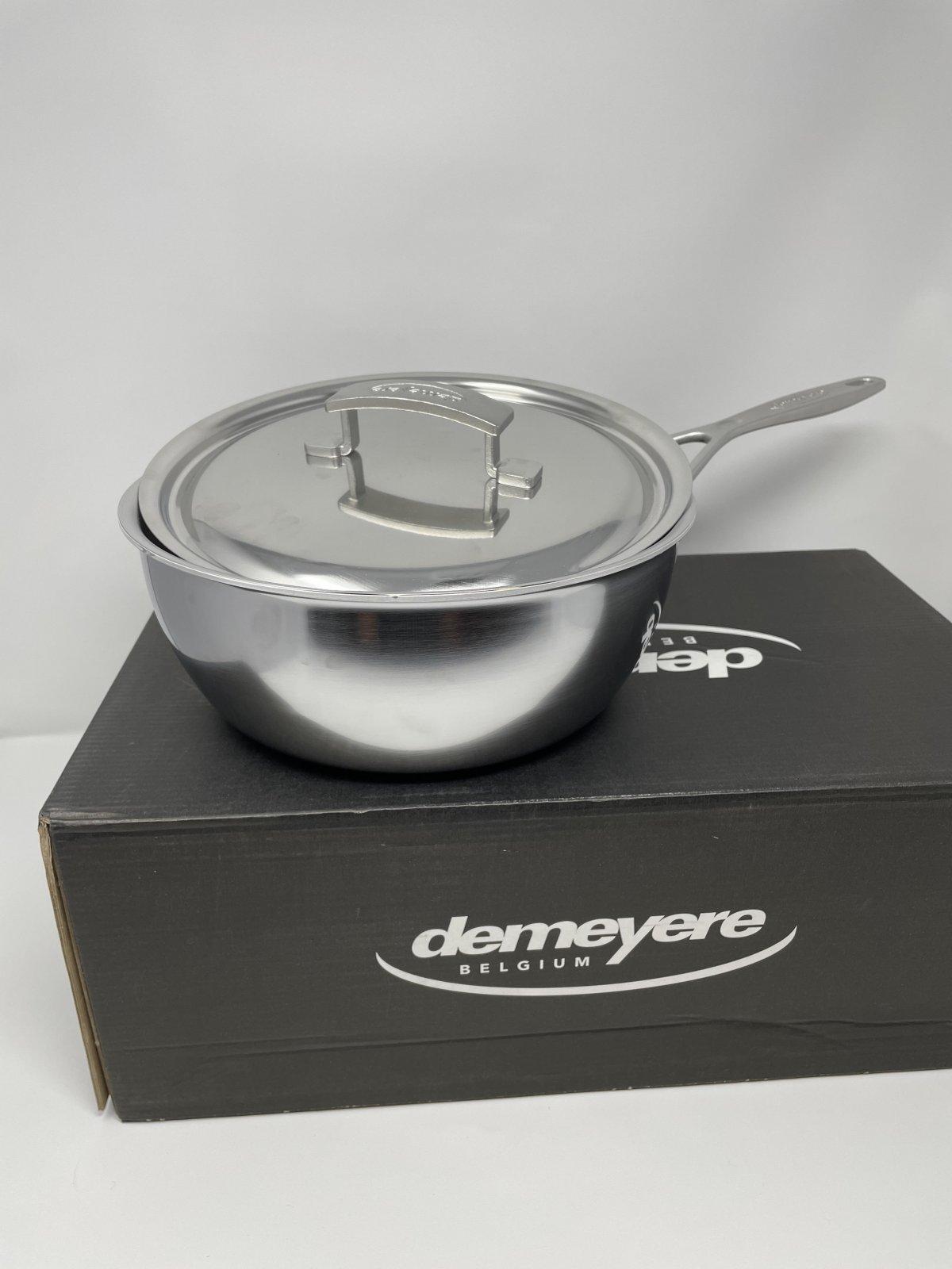 3.5 Conic Sautee w/lid-Demeyer Industry