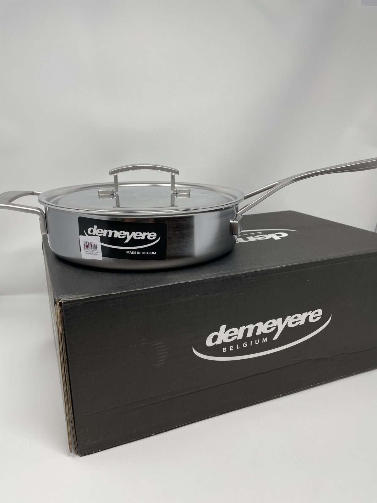 3qt Saute Pan with lid-Demeyer Industry