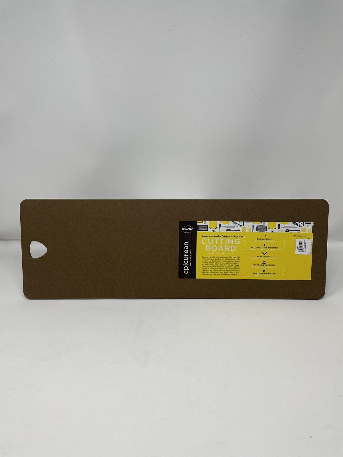Filet Board, 19 x 6 Nutmeg