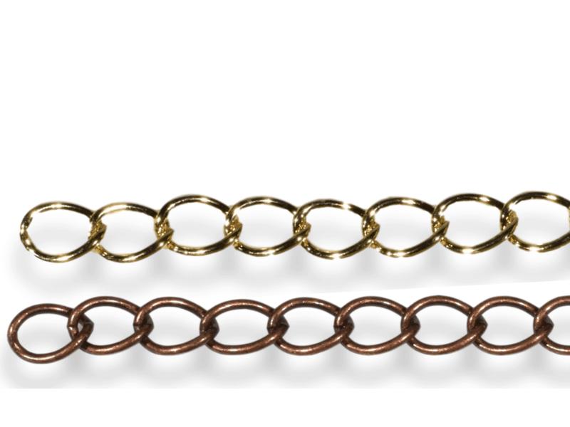 Flat Curb Connector Chain