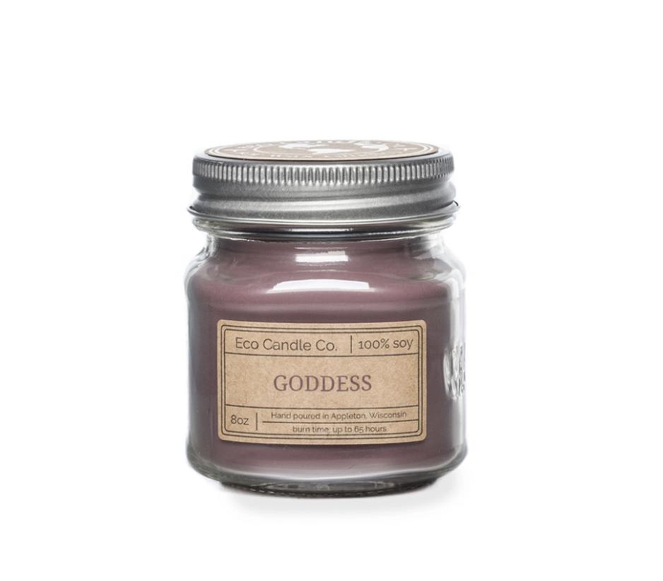 8oz Goddess Mason Jar Candle