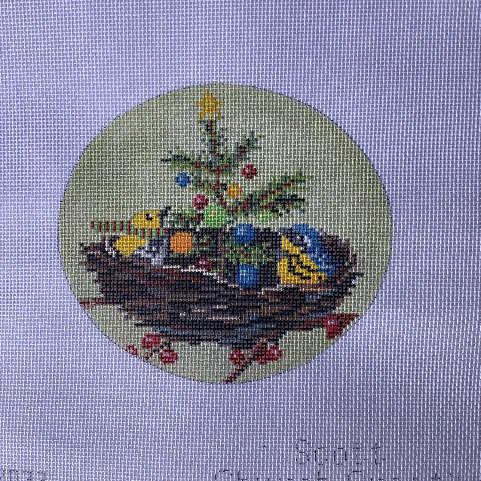 SCXO33 Christmas in the Nest Ornament