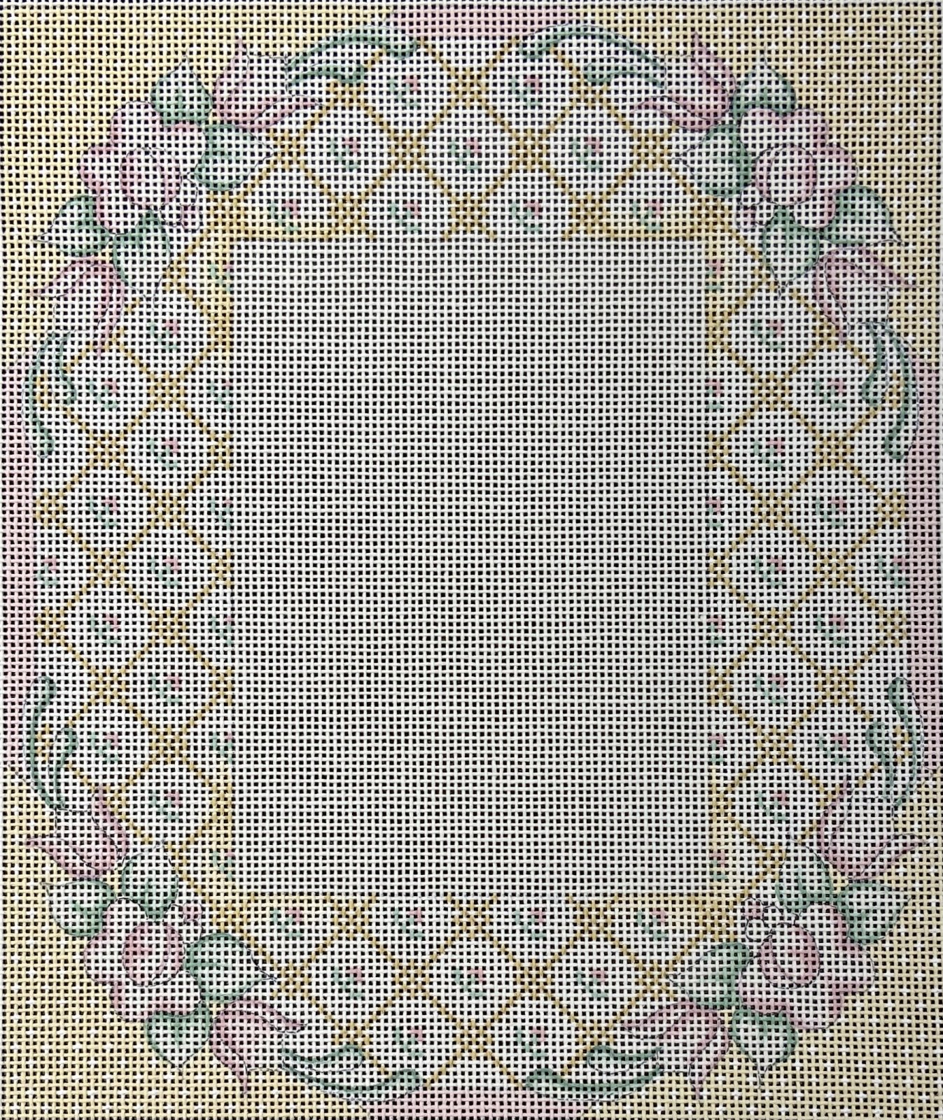 DD178FR Frame Pastels Floral Danae Designs