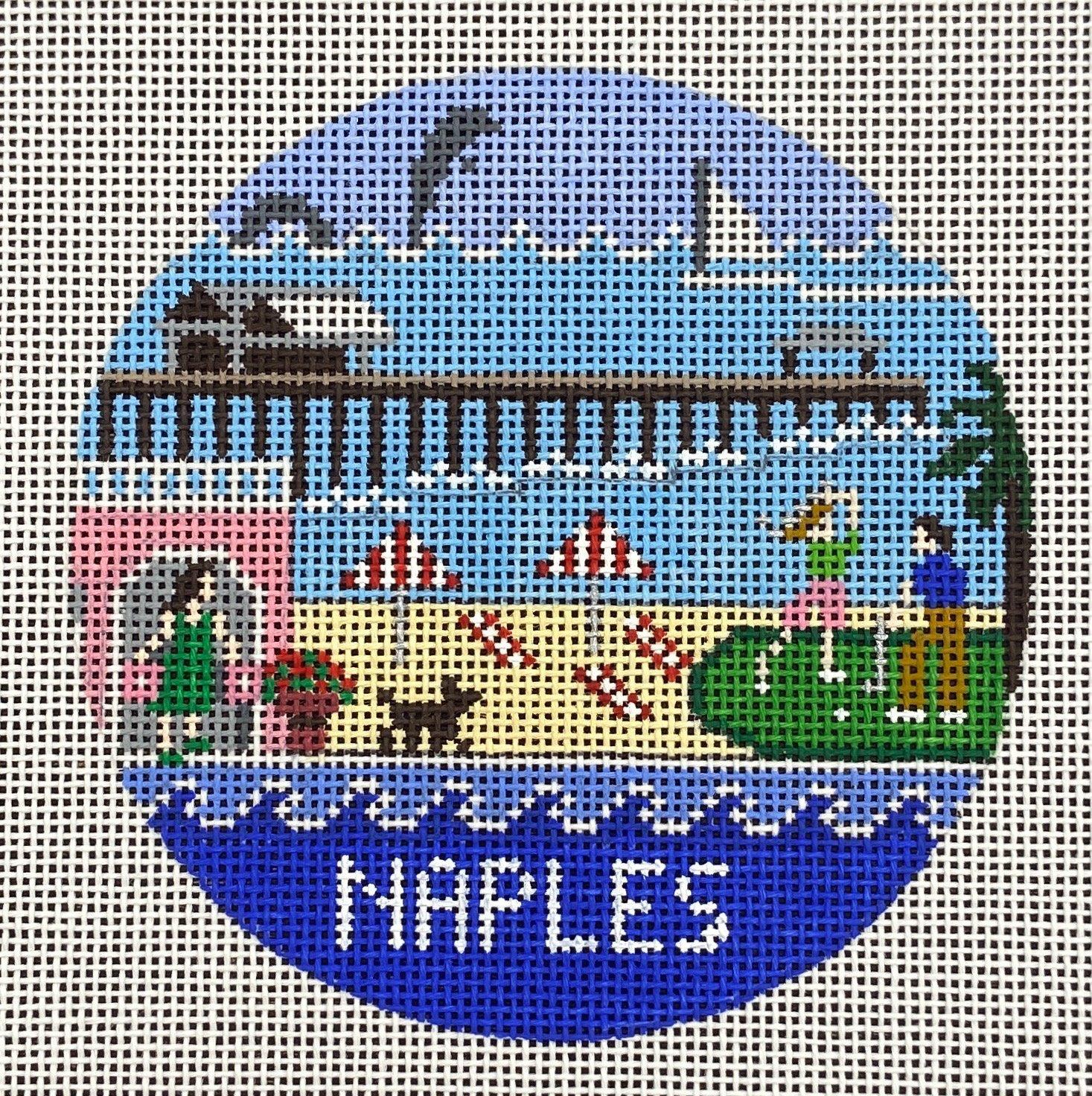 R330 Naples Travel Round Doolittle Stitchery