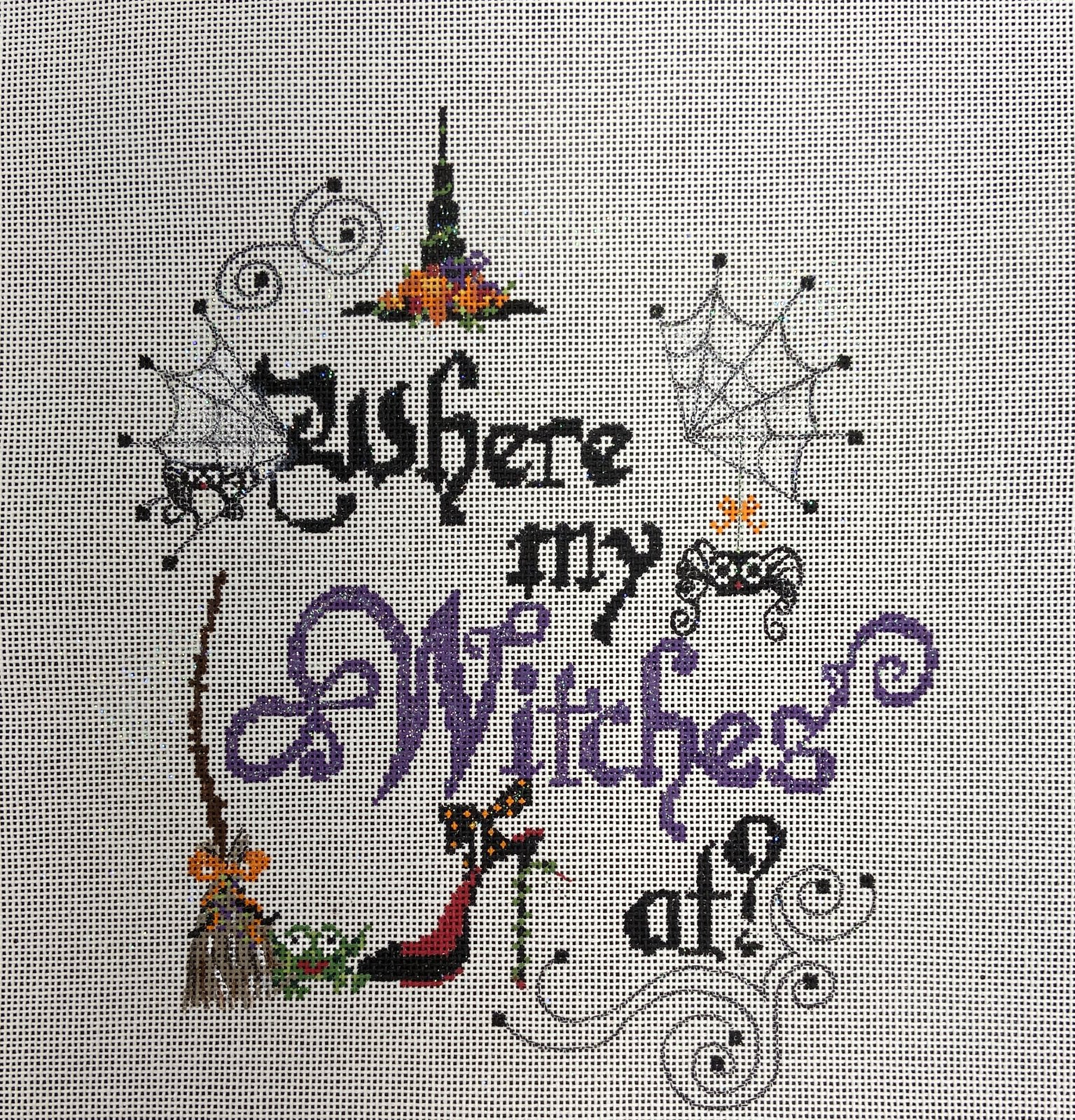 FSWHERE Where My Witches At? Halloween Funda Scully